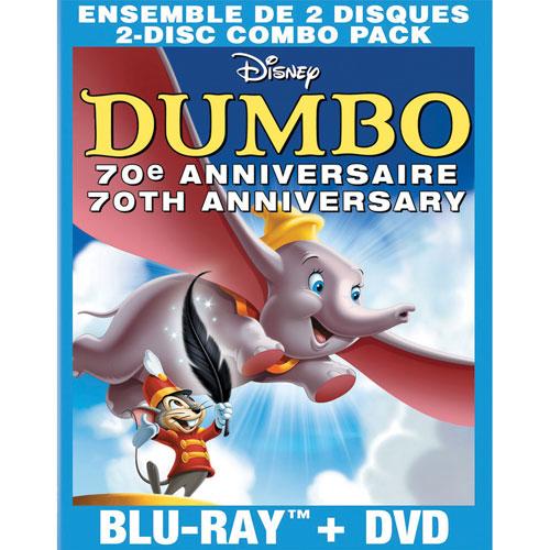 Dumbo (Bilingue) (Édition Anniversaire) (Combo Blu-ray) (1941)