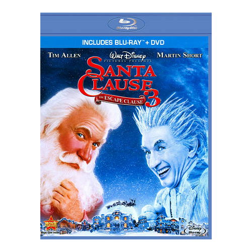 Santa Clause 3: The Escape Clause (Bilingual) (Blu-ray Combo) (2006)