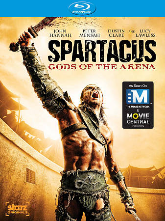 Spartacus: Gods of the Arena (2011) (Blu-ray)