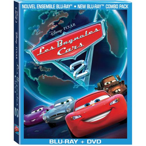 Cars 2 (Bilingual) (Blu-ray Combo) (2011)