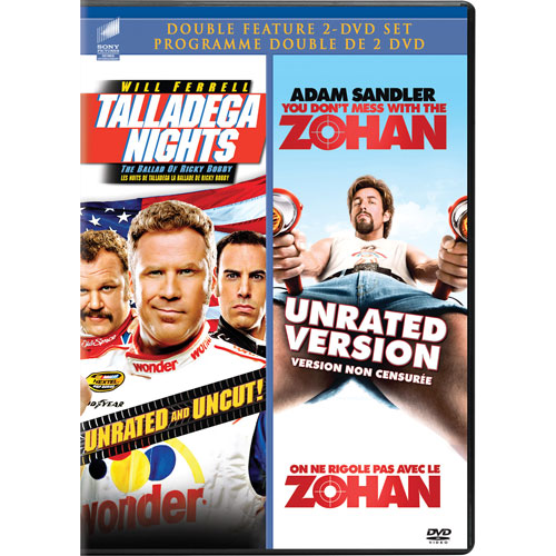 Taladega Nights: The Ballad of Ricky Bobby/You Don't Mess with the Zohan (2011)