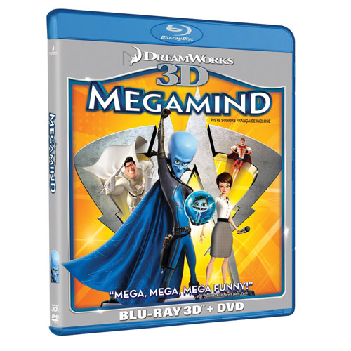 Megamind (Combo Blu-ray 3D) (2010)