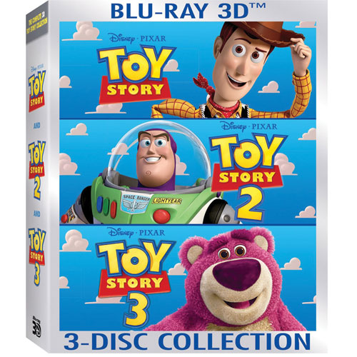 Toy Story 3D Trilogy (Blu-ray) (2011)