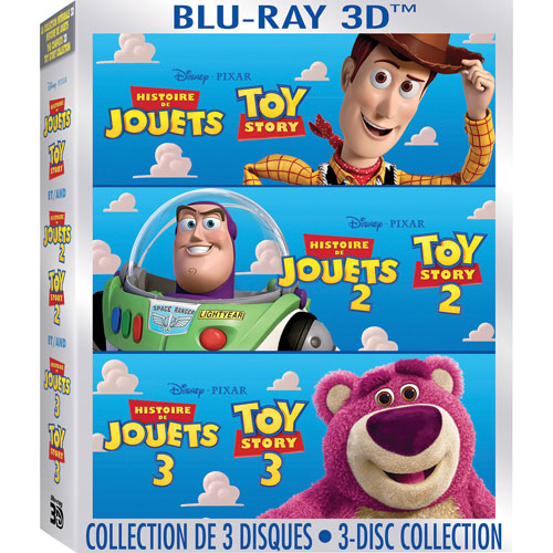 Toy Story 3-Movie Collection (Bilingual) (3D Blu-ray) (2011)