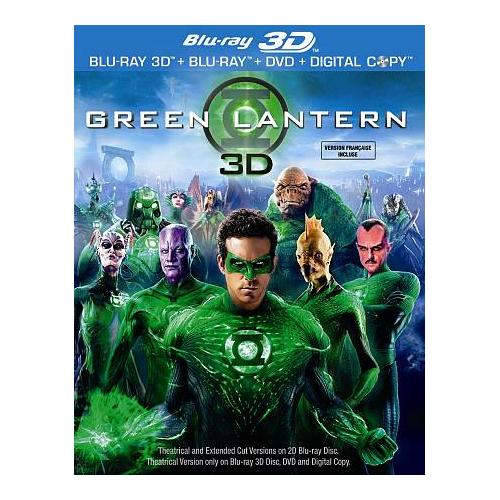 Green Lantern (DC Universe) (3D Blu-ray) (2011)