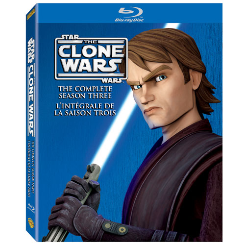 Star Wars: The Clone Wars - The Complete Season Three (2011) (Blu-ray)