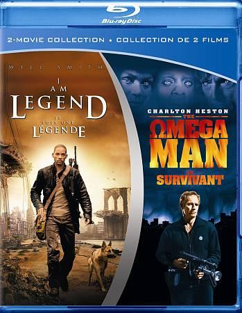 I Am Legend/Omega Man (2011) (Blu-ray)