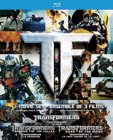 Transformers Trilogy (coffret) (Blu-ray) (2007 - 2011)