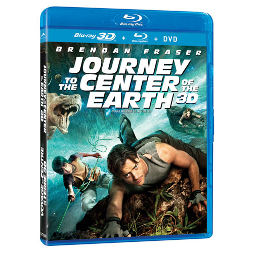 Journey To The Center Of Earth (3D Blu-ray Combo) (2008)