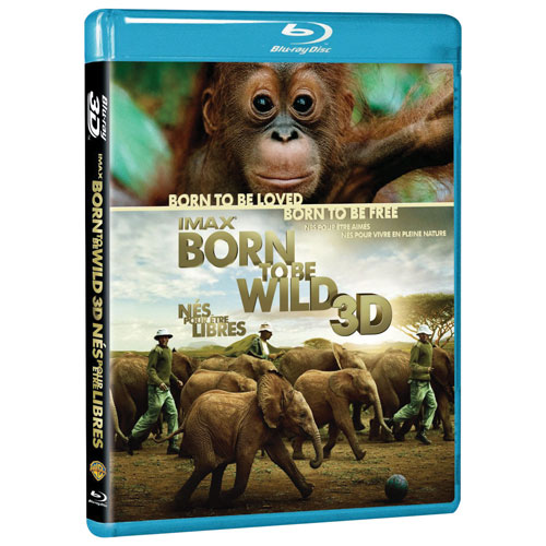 Born To Be Wild (bilingue) (Blu-ray 3D) (2011)