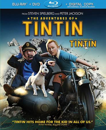 Adventures Of Tintin (Combo de Blu-ray)