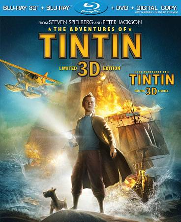 Adventures Of Tintin (3D Blu-ray Combo) (2011)