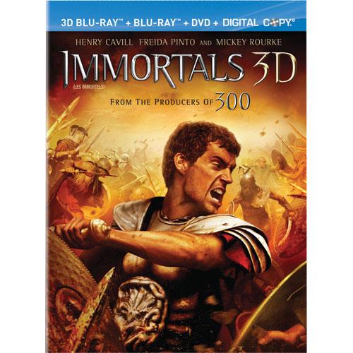 Immortals (3D Blu-ray Combo) (2011)