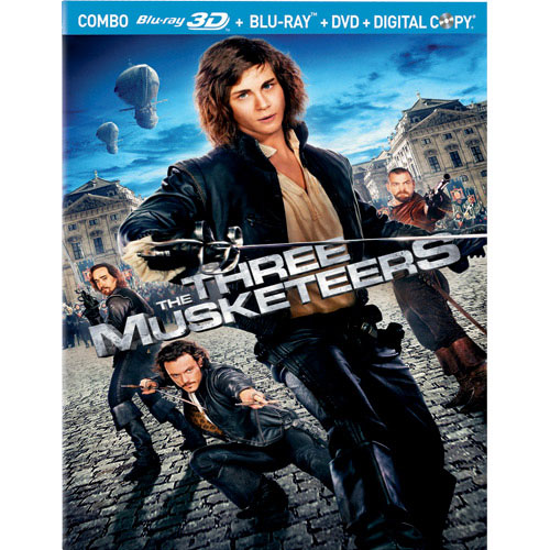 Three Musketeers (Combo Blu-ray 3D) (2011)