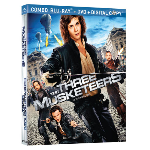 Three Musketeers (Combo de Blu-ray) (2011)