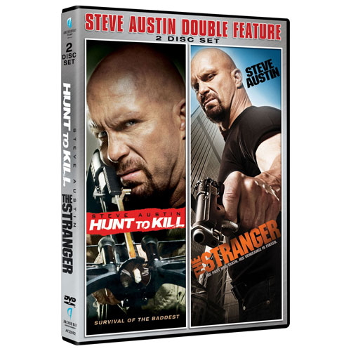 Steve Austin Double Feature: Hunt to Kill/ The Stranger