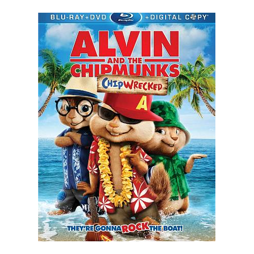 Alvin and the Chipmunks 3: Chipwrecked (Blu-ray Combo) (2011)