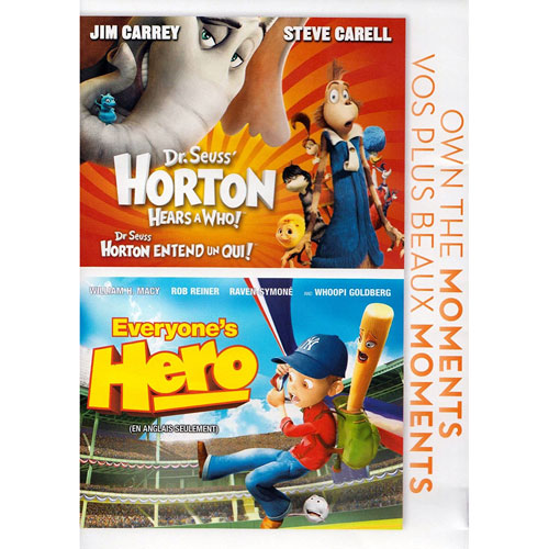Horton Hears a Who / Everyone's Hero Double Feature
