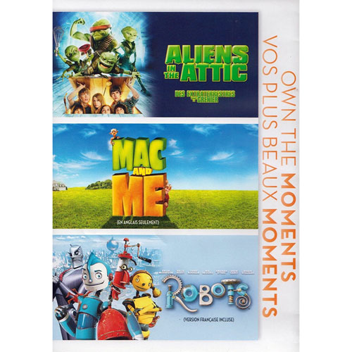 Aliens in the Attic/ Mac and Me/ Robots