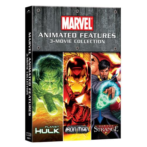 Marvel Animated (3 films)