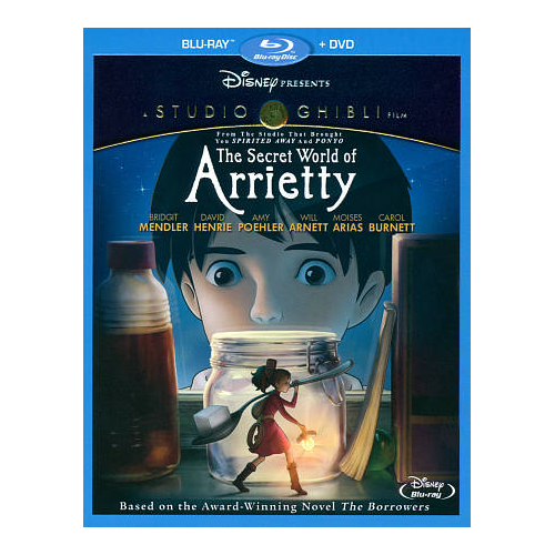 Secret World of Arrietty (combo Blu-ray) (2010)