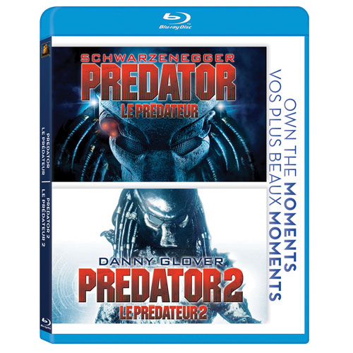 Predator 1 & 2 Double-Feature (Blu-ray)
