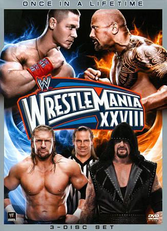 WWE 2012: Wrestlemania XXVIII
