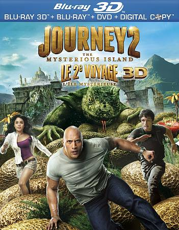 Journey 2: Mysterious Island (3D Blu-ray)