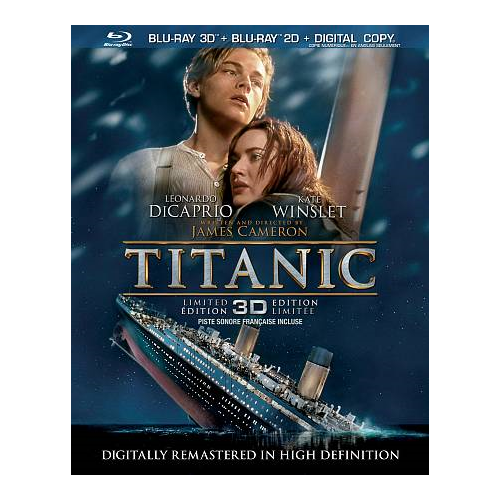 Titanic (4-Discs Edition) (3D Blu-ray Combo) (1997)