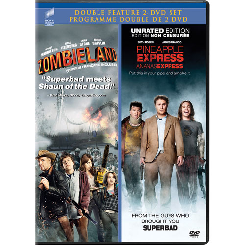 Pineapple Express Unrated/ Zombieland (Bilingue)