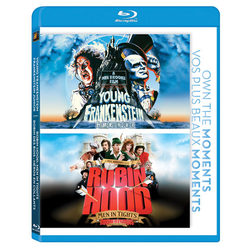 Frankenstein Junior/Robin des bois : Héros en collants (Blu-ray)