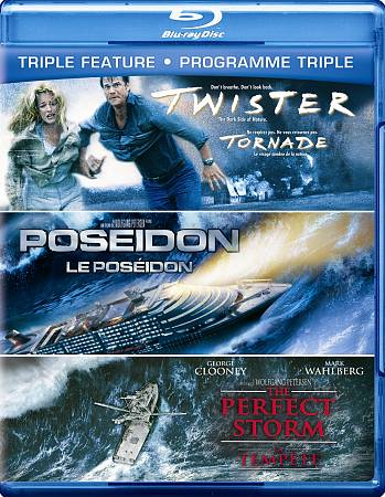 Twister/ Poseidon/ Perfect Storm Triple Feature (Blu-ray)