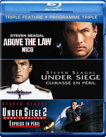 Above Law/ Under Siege/ Under Siege 2 Triple Feature (Blu-ray)
