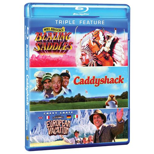 Blazing Saddles /Caddyshack /National Lampoon's European Vacation (Blu-ray)