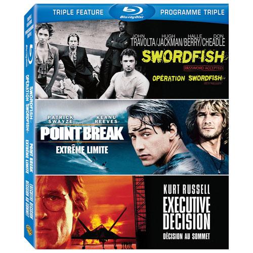 Executive Decision/ Point Break/ Swordfish Triple Feature (Blu-ray)