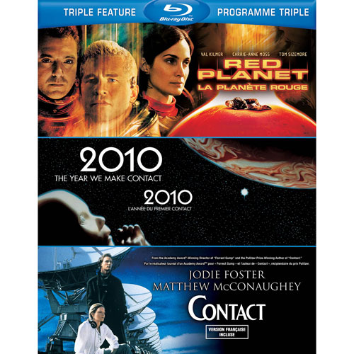 Red Planet/ 2010/ Contact (3 films) (Blu-ray)