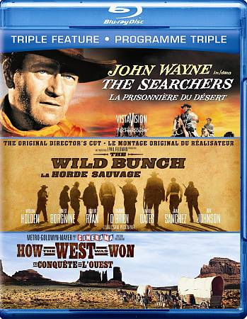 Searchers/ Wild Bunch/ How The West Was Won (Bilingual) (Blu-ray)
