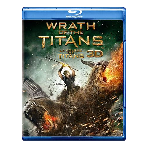 Wrath Of The Titans (bilingue) (Blu-ray 3D) (2012)