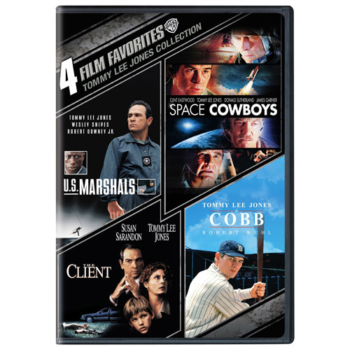 4 Film Favorites: Tommy Lee Jones Collection