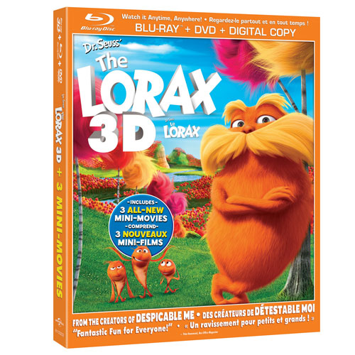 Dr. Seuss' The Lorax (3D Blu-ray Combo) (2012)