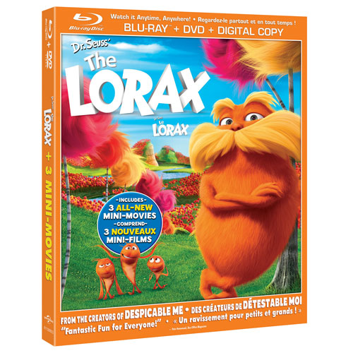 Dr. Seuss' The Lorax (Combo de Blu-ray) (2012)