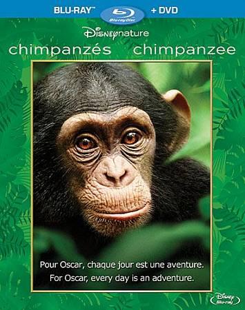 Chimpanzes (Bilingual) (Blu-ray Combo) (2012)