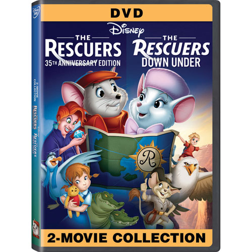 The Rescuers 35th Anniversary Edition (2 Movie Collection) (DVD) (1977/1990)