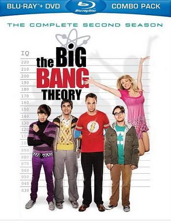 Big Bang Theory: L'intégrale de la deuxième saison (Blu-ray)