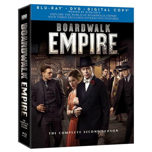 Boardwalk Empire : L'intégrale de la deuxième saison (coffret Blu-ray)