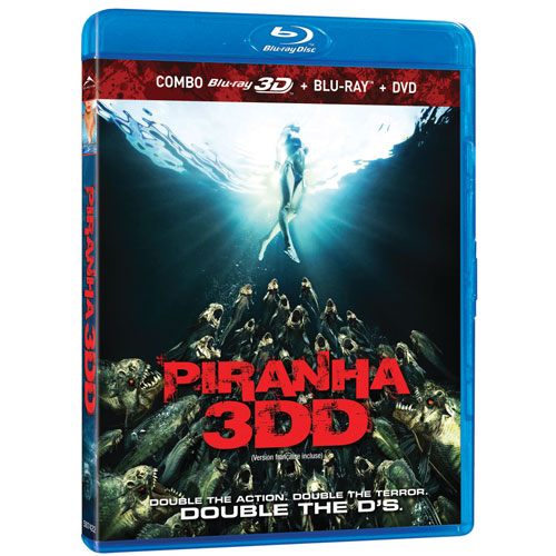 Piranha 3DD (Blu-ray Combo)