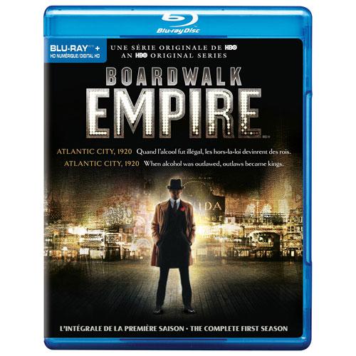 Boardwalk Empire: The Complete First Season (Bilingual) (Blu-ray)