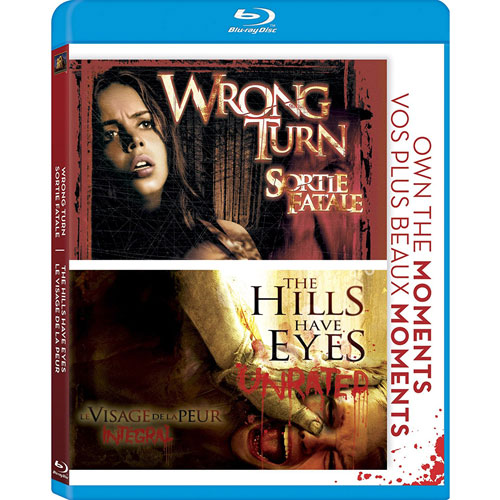 Wrong Turn / The Hills Have Eyes (Blu-ray)