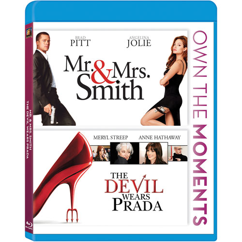 Mr. & Mrs. Smith - The Devil Wears Prada (Blu-ray)