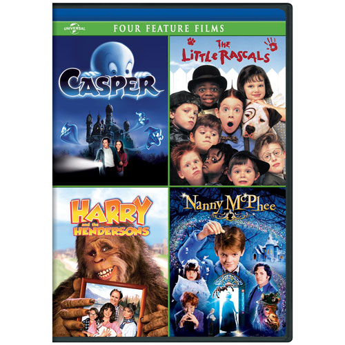 Casper/ The Little Rascals/ Harry and the Hendersons/ Nanny McPhee